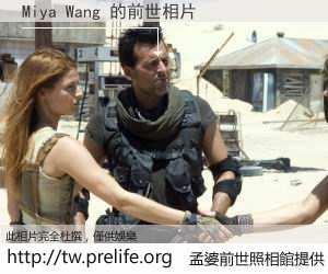 Miya Wang 的前世相片