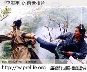 李海宇 的前世相片
