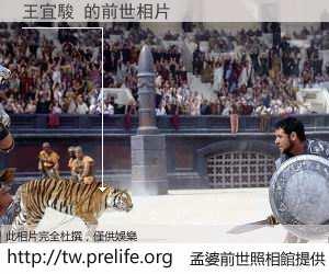 王宜駿 的前世相片