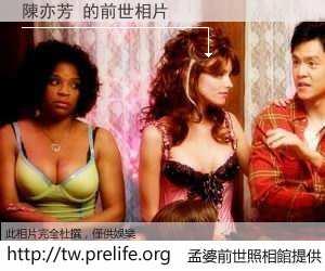 陳亦芳 的前世相片