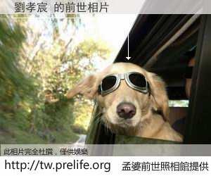 劉孝宸 的前世相片