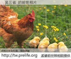 吴三省 的前世相片