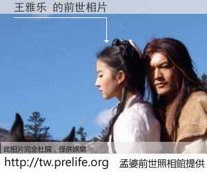 王雅乐 的前世相片