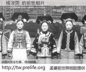 楊淳閔 的前世相片